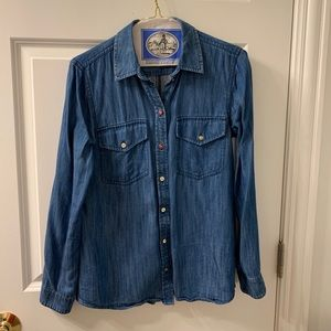 Club Monaco denim button down